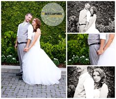 Bride & Groom // Downtown Pensacola // 5 Eleven Palafox // Kate's Captures Photography