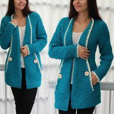 Knit pattern, patron tricot TANYA knit cardigan, knit vest sweater, women knit top pattern - XS- S - M - L – XL- knit *Buy 3 patterns and get 1 FREE Pattern using the code (Add 4 patterns to cart, add the code and you will be refun. Gilet Crochet, Crochet Poncho Patterns, Crochet Jacket, Crochet Cardigan, Baby Knitting Patterns, Knit Cardigan, Crochet Pattern, Crochet Vests, Handgemachtes Baby