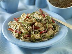 Soba Noodle Salad with Tofu