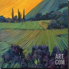 Hillside Tuscany By Philip Craig Paintings Tuscany Italy Pinterest Tuscany
