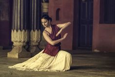 An Indian Classical Dance form of Kathak.