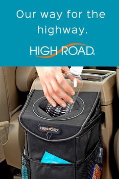 We've been designing innovative car storage solutions in the U.S. for 30 years. The StashAway trash bin is a good example. Designed and patented in 2016, it's often copied but never duplicated. See this and more problem-solving ways to keep cars shipshape and ready to roll at www.highroadorganizers.com