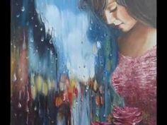 CELAL GÜNAYDIN - Turkish Artist Painter - Denizli - Some Oil Paint Art Work Impressionist Art, Impressionism, Romantic Series, Rain Art, Amazing Paintings, Woman Painting, Bold Colors, Lovers Art, Art Gallery