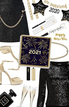 new years Outfit | ShopLook New Years Outfit, New Years Eve Outfits, New Years Cocktails, Nye Outfits, Outfit Maker, Night Out, Shoulder Bag, How To Wear, Fashion