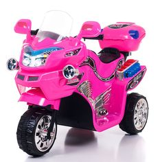 Pink Motorcycle, Motorcycle Style, Apex Scooters, Mobility Scooters, 4 Year Old Girl, Power Bike, 3rd Wheel, Outdoor Toys, Toys For Girls