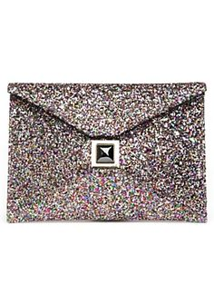 what a great clutch! great for New Years Eve 2012 too! and or just for some plain ole spunk to your boring outfit! yahoo yippee