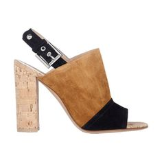 Gianvito Rossi Two-Tone Halter-Strap Sandals at Barneys.com