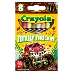 Crayola Pick your Pack Totally Truckin' Crayons - 8 Count