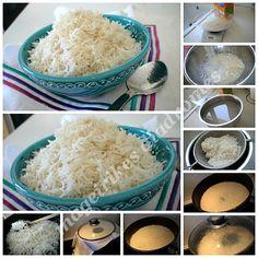 Αφράτο ρύζι ατμού Risotto, Grains, Rice, Recipes, Food, Recipies, Essen, Meals, Ripped Recipes