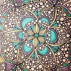Circle. Circle. Line. Headache. #art #drawing #mandala
