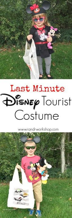 Quick & Easy Disney Tourist Costume! If your a Disney Fan- this costume is for you :)