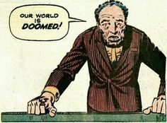 Doomed!  | art by: Steve Ditko