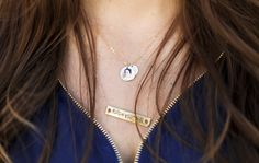Custom photo necklace. A chic memory keepsake.