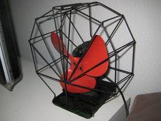 AEG Ventilator Antik Peter Behrens Design von Living_at_Home auf DaWanda.com
