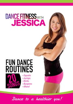 Dance Fitness With Jessica - YouTube Playlist. Great for abs and legs and cardio! And twerking! http://www.youtube.com/playlist?list=PL42o6FzTal_3GcQTXczQcIX5BftDwVs38