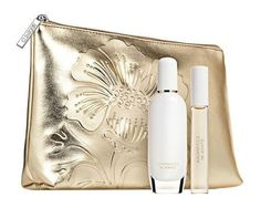 $112 - CLINIQUE AROMATICS IN WHITE GIFT SET #fragrance #clinique Fragrance, Wallet, Gifts, Presents, Handmade Purses, Purses, Diy Wallet, Purse, Favors