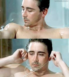 Lee Pace in a bathtub. Yeah, I know.