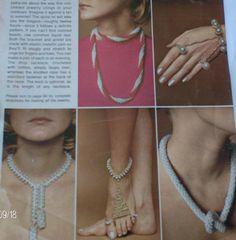6 Vintage Crochet Jewelry Patterns