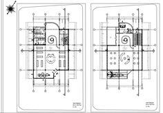 Stüdyo I Saat Mağazası Autocad Çizimleri- Kat Planları