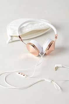 Leather-Wrapped Headphones - #anthrofave