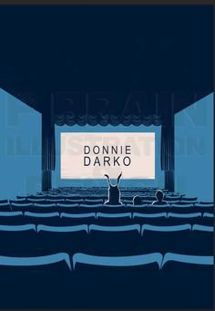 Donnie Darko poster by P Brain Illustration