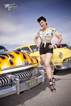50's inspired cars and clothes