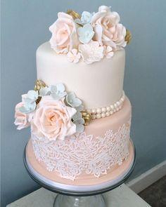 Wedding Cake Flavors, Wedding Cakes With Cupcakes, Wedding Cakes With Flowers, Wedding Cake Toppers, 2 Tier Wedding Cakes, Flower Cakes, Amazing Wedding Cakes, Elegant Wedding Cakes, Elegant Cakes