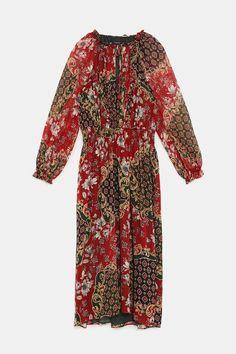 27f77c81544dbb 10 meest inspirerende afbeeldingen over Bedrukte jurken in 2019 ...