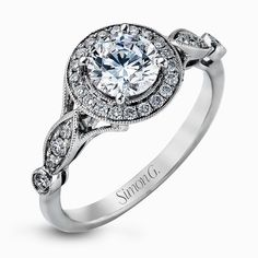 TR523 Engagement Ring | Simon G. Jewelry