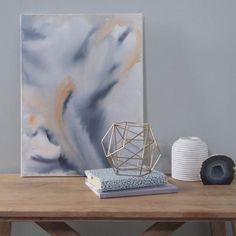 Diy Artwork, Large Artwork, Abstract Watercolor Art, Watercolor Paintings, Easy Watercolor, Diy Canvas Art, Instagram Shop, Painted Wood, Better Homes