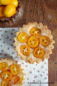 5 SeNtIdOs En La CoCiNa: Tartaletas de almendra y kumquats Grapefruit, Dado, Sweet, Blog, Sweets, Cookies, Cooking, Candy