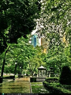 Rittenhouse Square in Philadelphia.  My old favorite.  Two weeks until we visit my sister, brother-in-law, nephew and brand new niece!