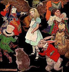 Alice in Wonderland. Symbool van het kind in mezelf :-)