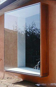 Facade Design, Exterior Design, House Design, Bay Window Exterior, House Extensions, Window Design, Architectural Elements, Windows And Doors, Architecture Details