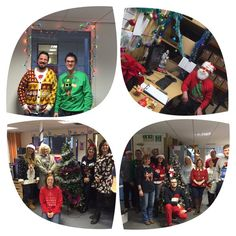 Christmas Jumper Day 2015 - raising over £900 for Text Santa