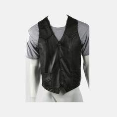 plain motorcycle vest