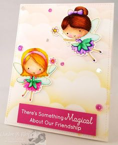Ever After Papercrafts: Video Tutorial - MFT Stamps - Fairy Happy - No Line Watercolor