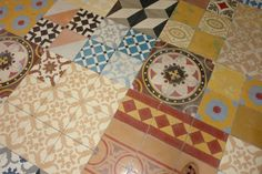 Cuban tiles. Use for color inspiration.