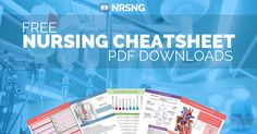 Download these free PDF nursing reference sheets on the most difficult topics. The information you need in clinical right at your fingertips.