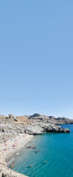Ammoudaki beach in Rethymno,Crete