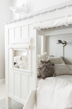 nursery details Fashionable Hostess + Restoration Hardware Baby