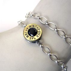 Bullet bracelet! I love weapon jewelry