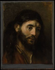 """Rembrandt painted this subject a number of times; three examples, one described as """"Een Christus tonie nae't leven"""" (""""a head of Christ done from life,"""" that is, from a model probably found in the Jewish quarter of Amsterdam), were cited in the 1656 inventory of the artist's possessions"""