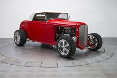 custom hot rod designs | 1932 Ford Roadster 439 Miles Red Hot Roadster 383 V8 4 Speed Automatic - Classic Ford Other 1932 ...