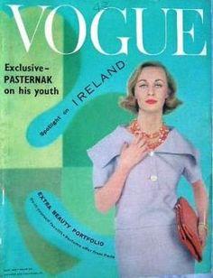 Vintage Vogue magazine covers - mylusciouslife.com - Vintage Vogue UK May 1959.jpg