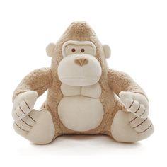 Jane Goodall stuffed gorilla