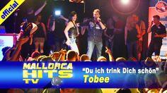 """Tobee mit seinem Party Song """"Du ich trink Dich schön"""", live auf der Mallorca Opening Party 2014 in Durmersheim."""