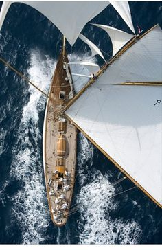 Sailing is fun but I hate heights