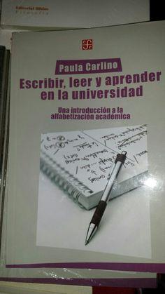 Escribir, leer y aprender en la universidad