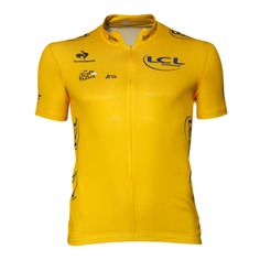 Maillot jaune du Tour de France Le Coq Sportif Boutique officielle Tour de  France Jersey Shirt 7a0373a35